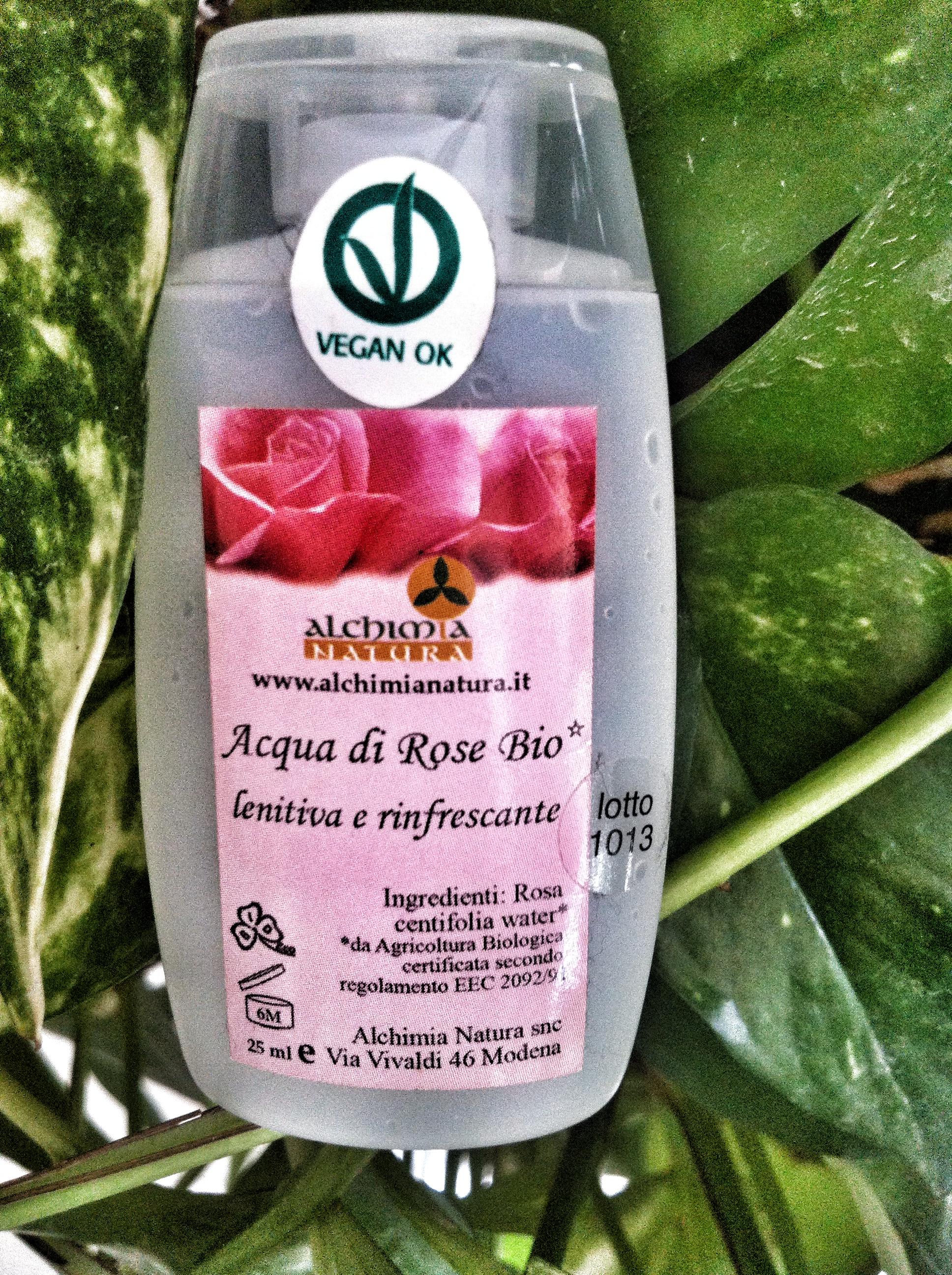 Alchimia Natura – Acqua di Rose Bio | Recensione