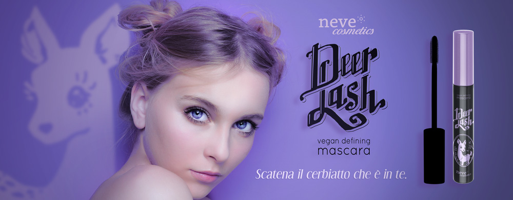 DeerLash vegan defining mascara di Neve Cosmetics