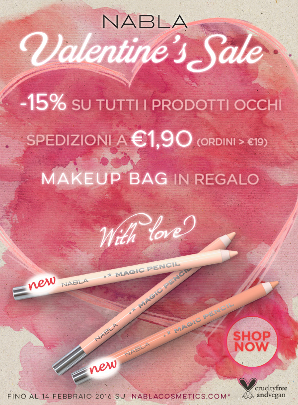Valentine's Sale + nuove Magic Pencils
