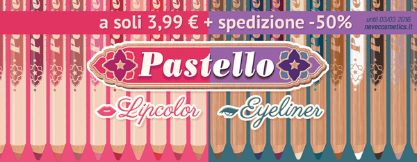 Neve Cosmetics: Pastello in offerta