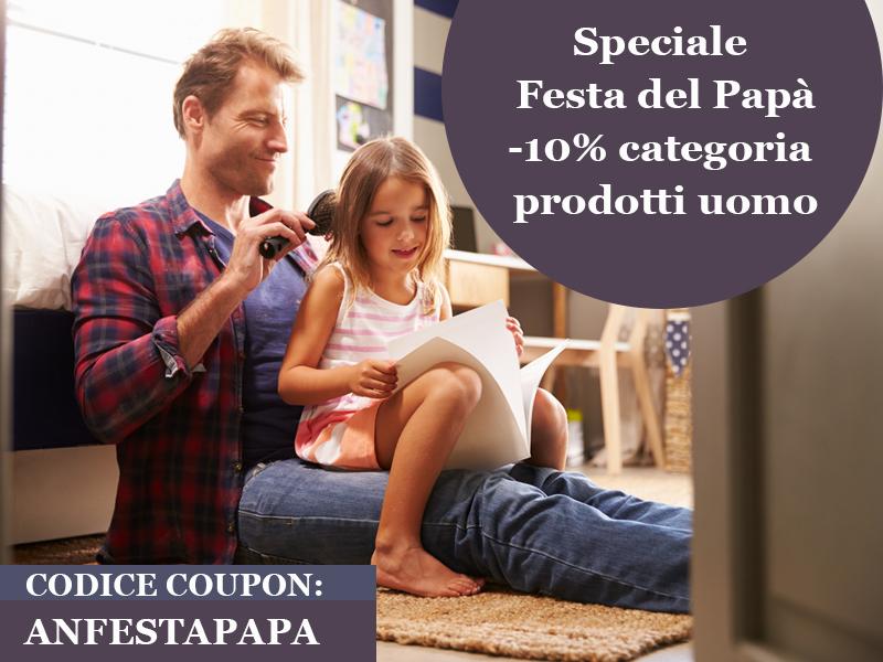 Alchimia Natura: offerte Festa del Papà