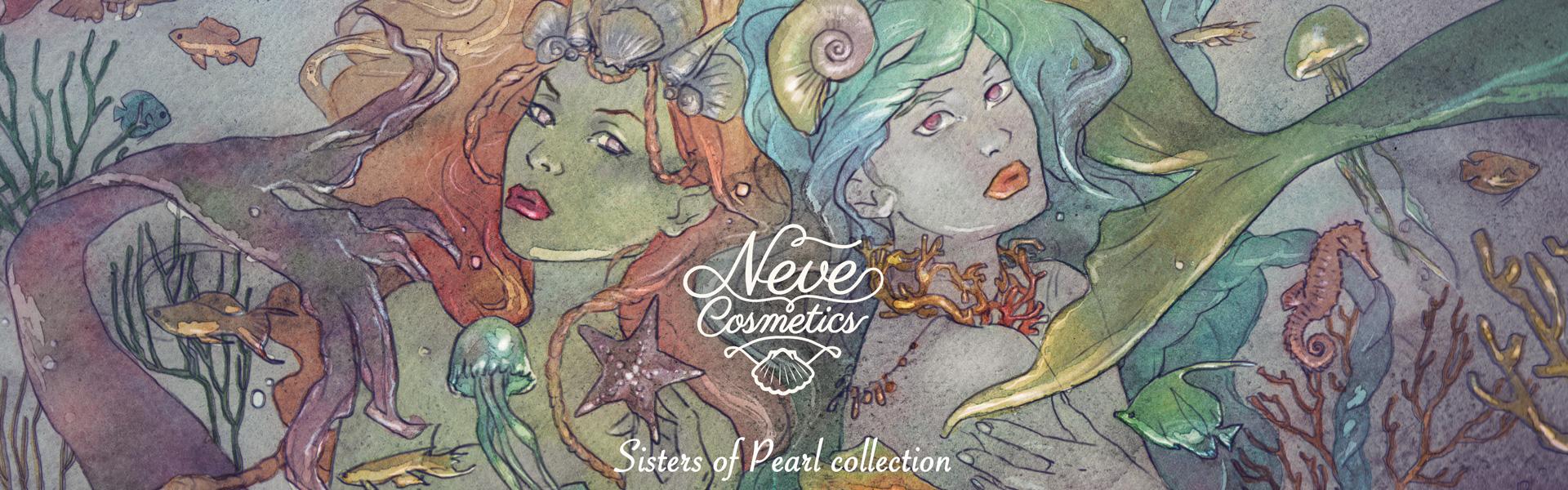 Neve Cosmetics presenta: Sisters Of Pearl