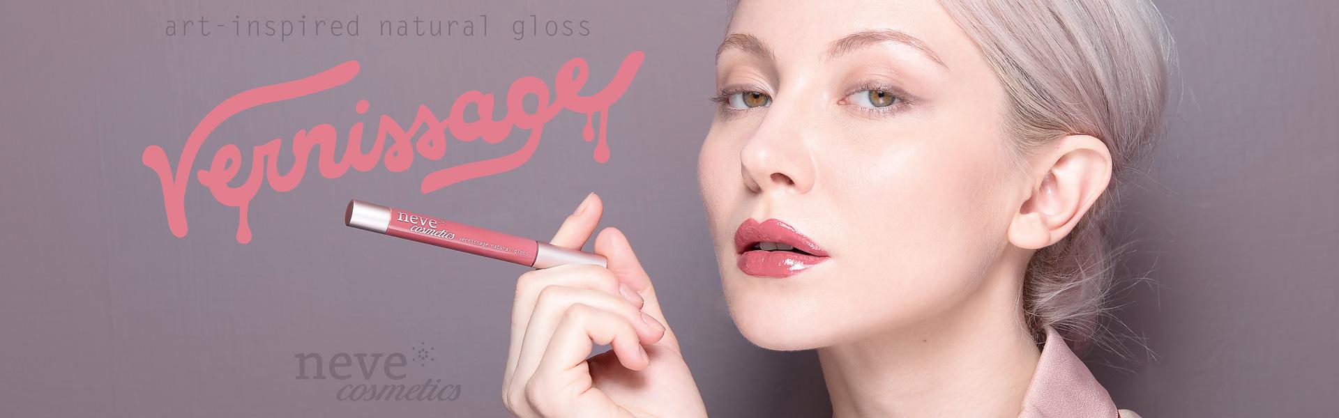 Vernissage, i nuovi gloss Neve Cosmetics