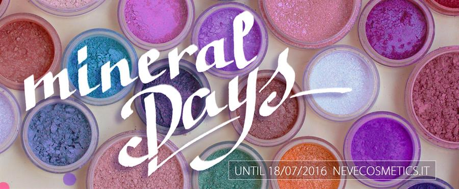 Save the date: arrivano i Mineral Days!
