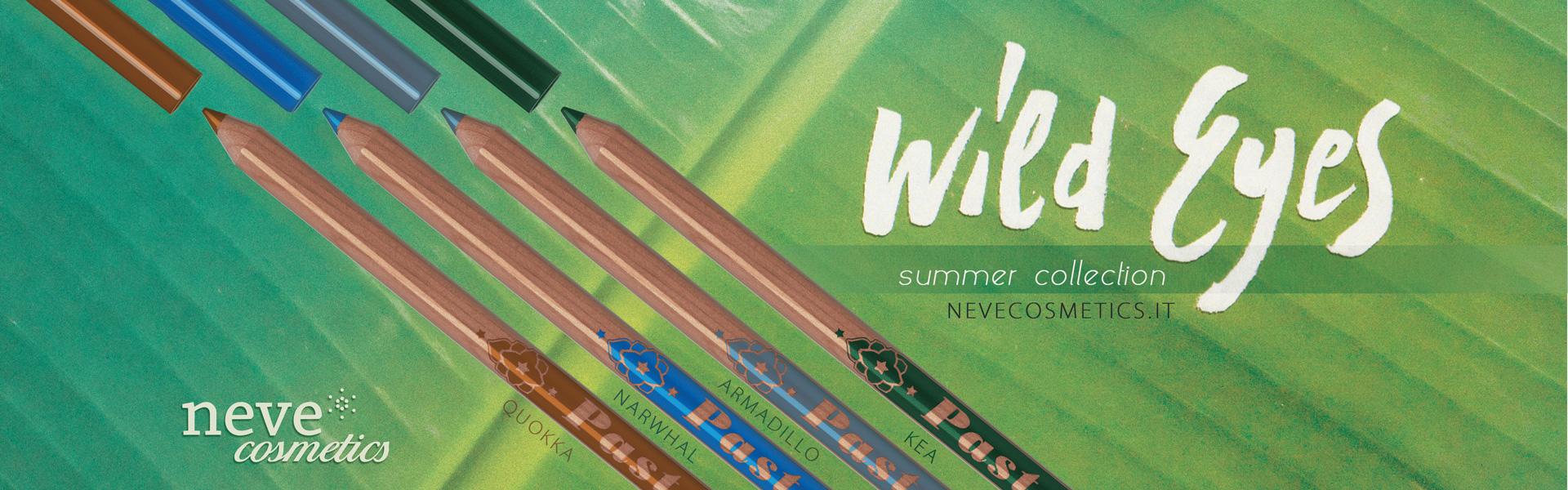 Wild Eyes: la nuova collezione Neve Cosmetics