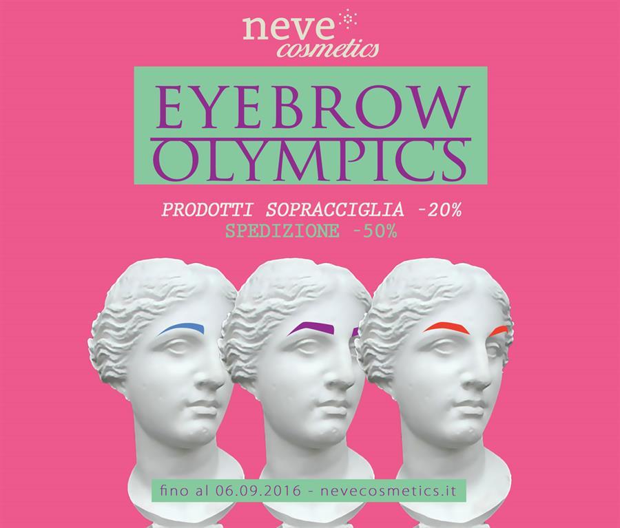Eyebrow Olympics: nuova offerta Neve Cosmetics