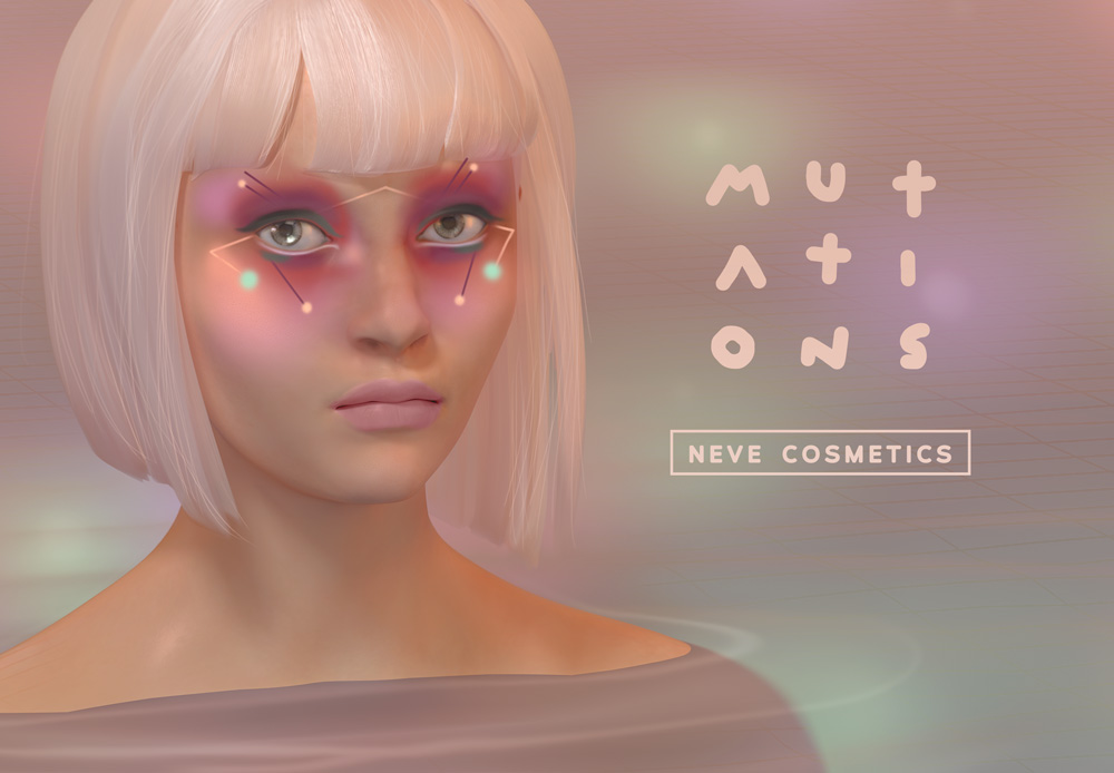 Mutations, la nuova collezione di Neve Cosmetics