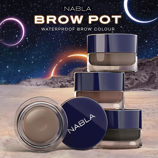 Brow Pot by Nabla: la nuova linea per sopracciglia