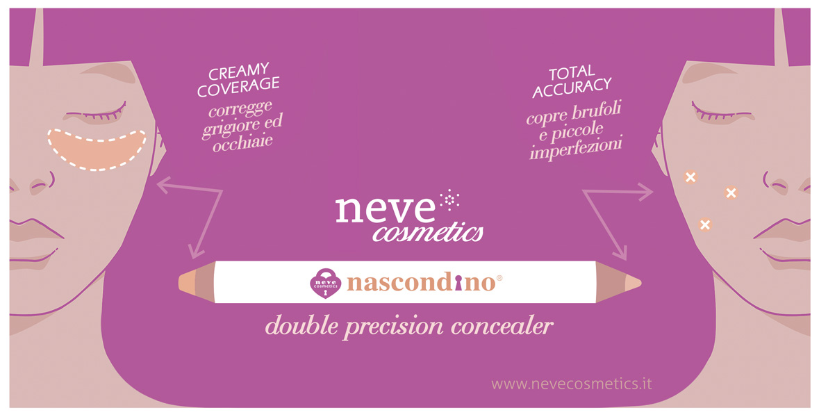 Nascondino Double Precision concealer by Neve Cosmetics