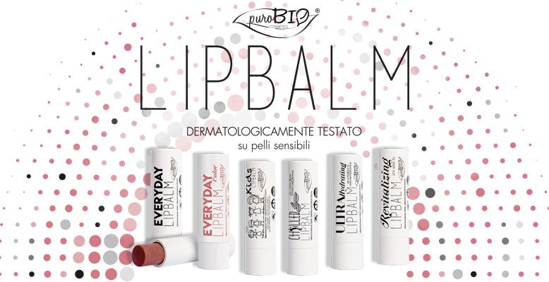 I nuovi LipBalm di PuroBio