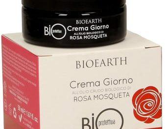 Crema Giorno Bioprotettiva alla Rosa Mosqueta – Bioearth | Recensione