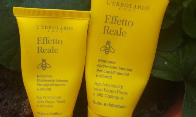 Shampoo e Balsamo Effetto Reale de L'Erbolario | Recensione
