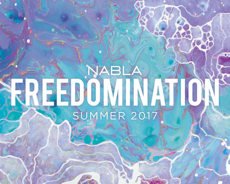 Freedomination – Summer Collection 2017 by Nabla Cosmetics