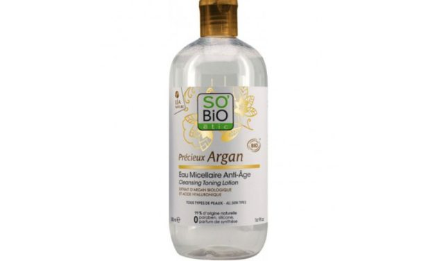 So' Bio Étic – Argan – Acqua Micellare ANTIAGE | Recensione