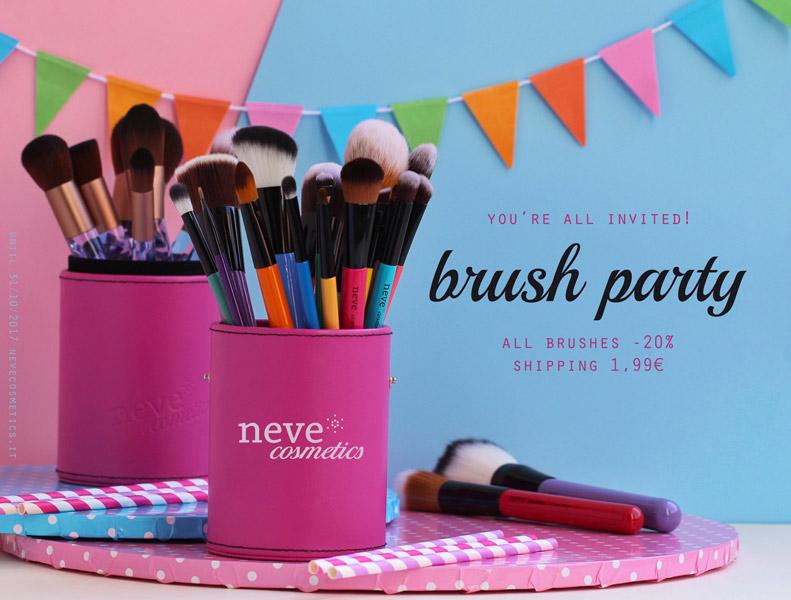 Brush Party e spedizione a 1,99 euro