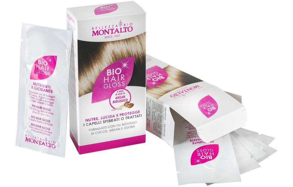 Bio Hair Gloss di Montalto Bio per capelli lucidi e luminosi