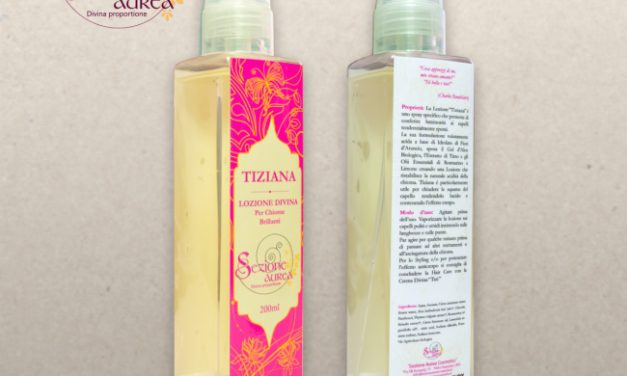 Tiziana Lozione Divina – Sezione Aurea Cosmetics | Recensione