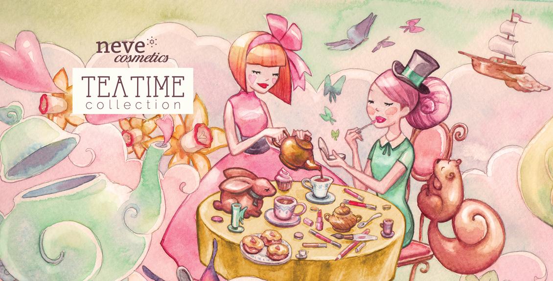 Tea Time in offerta sul sito Neve Cosmetics