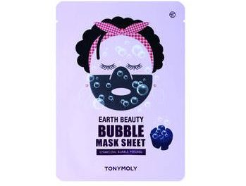 Earth Beauty Bubble Sheet Mask – Tonymoly | Recensione