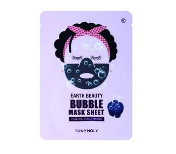 Earth Beauty Bubble Sheet Mask – Tonymoly | Recensione