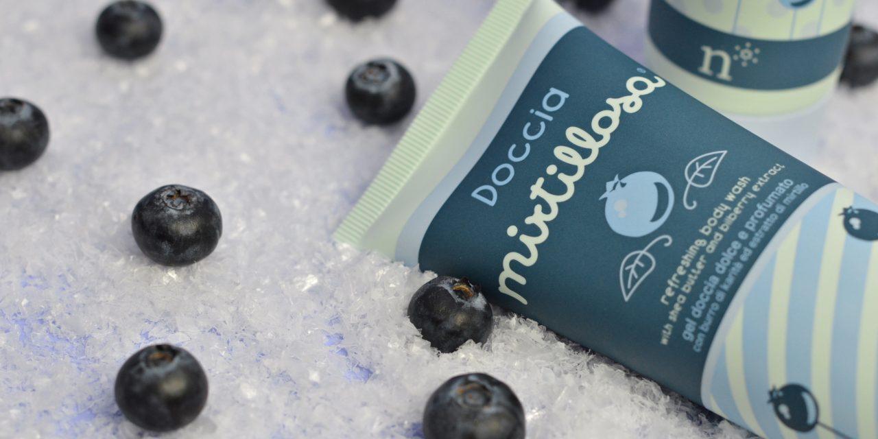 Una Doccia Mirtillosa con Neve Cosmetics