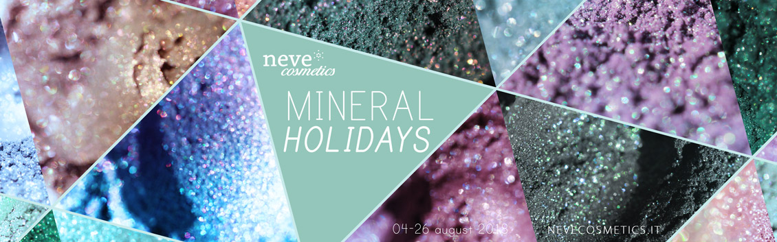 Promo Mineral Holidays – Neve Cosmetics