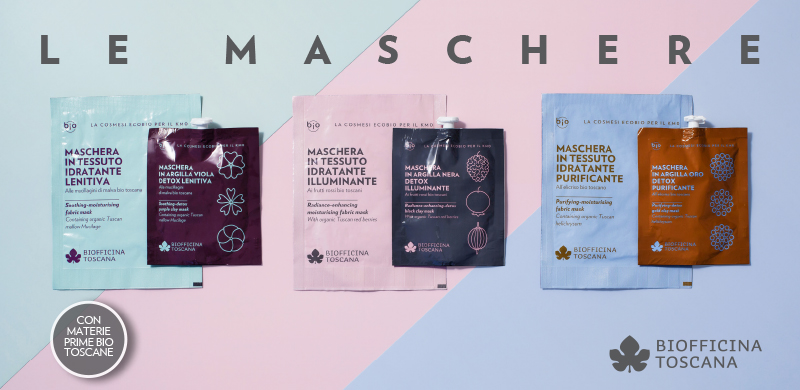 Maschere Viso   Biofficina Toscana
