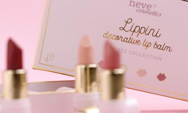 Lippini decorative lip balm di Neve Cosmetics