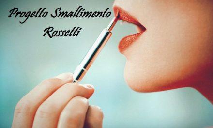 Progetto Smaltimento Make Up – Rossetti #1