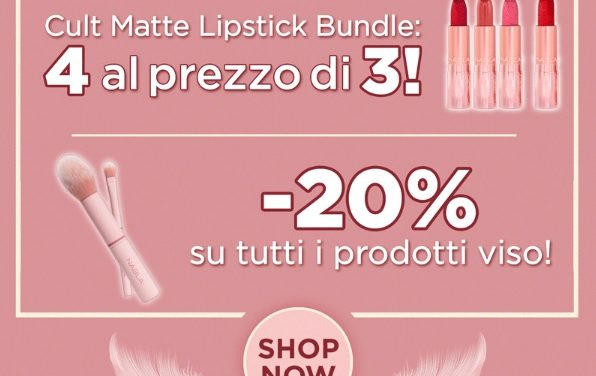 The Matte Lip Collection di Nabla Cosmetics in offerta