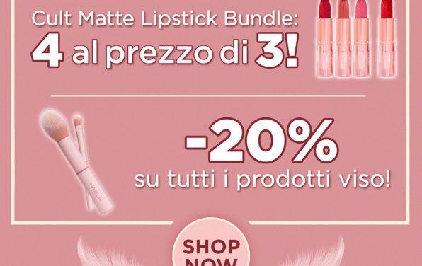 The Matte Lip Collection di Nabla Cosmetics in offerta