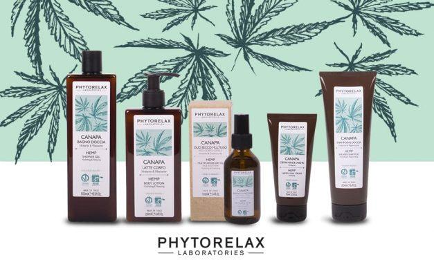 Phytorelax lancia una linea Bio a base di olio di Canapa
