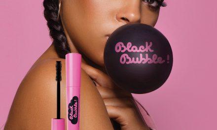 Black Bubble Strawberry Volume Mascara | Neve Cosmetics