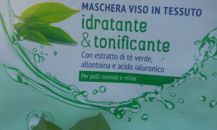 Maschera viso in tessuto idratante & tonificante – Cien | Recensione