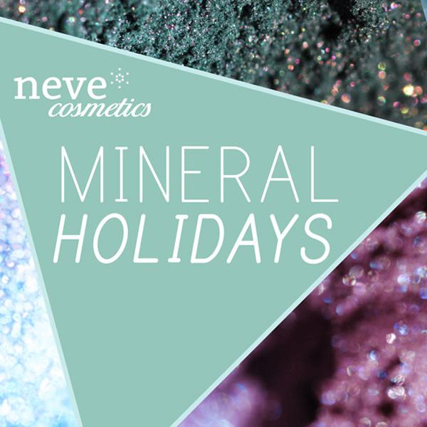 Mineral Holidays: Neve Cosmetics