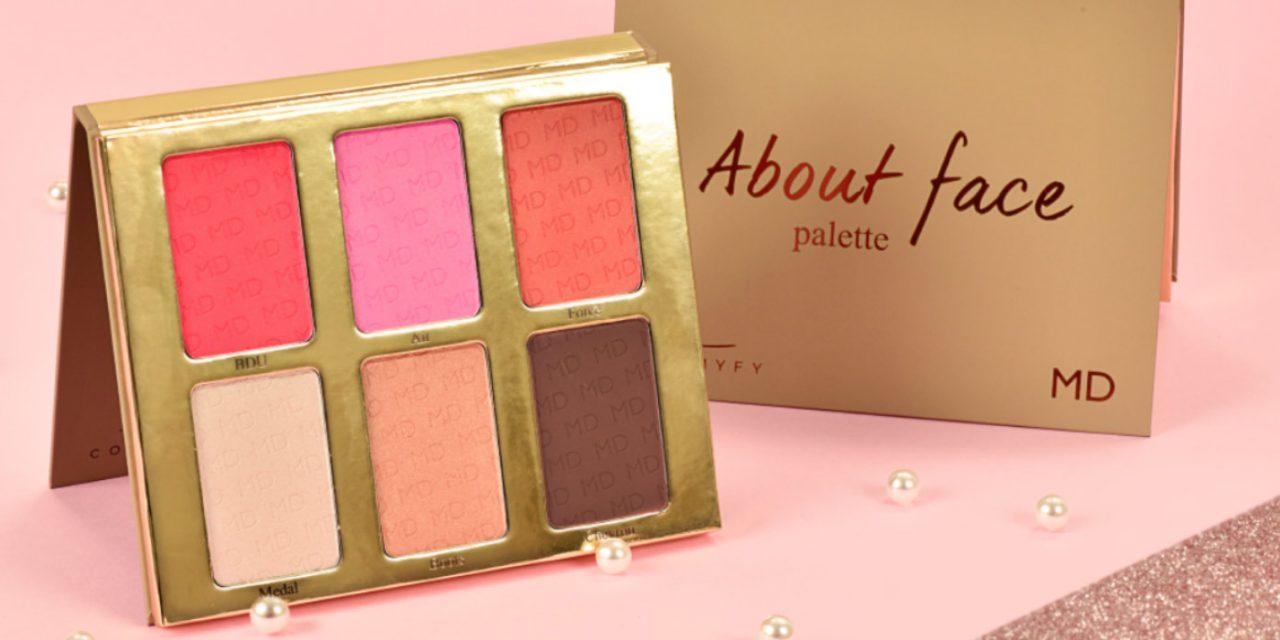 About Face: la nuova palette di Giuliana | Cosmyfy