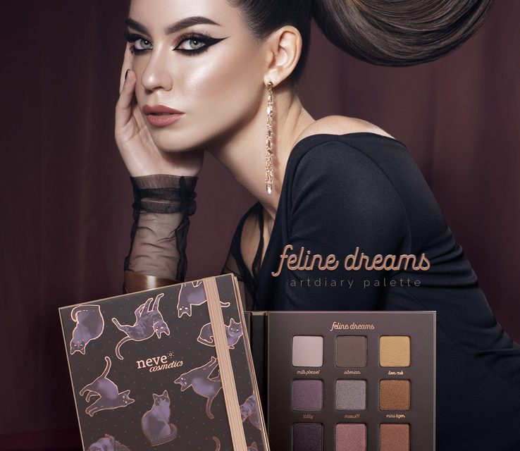 Feline Dreams, la prima ArtDiary palette Neve Cosmetics