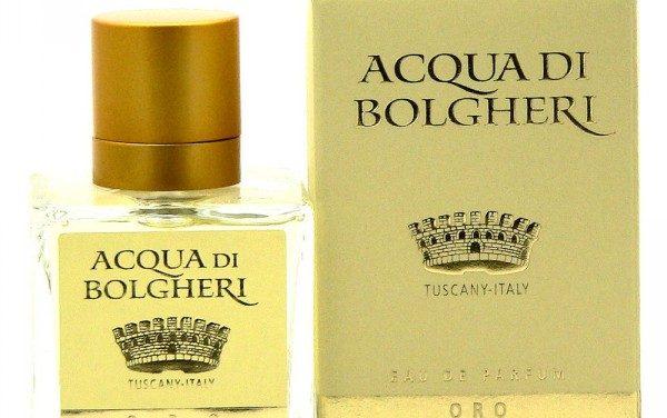 Acqua di Bolgheri – Profumo Oro | Dr. Taffi