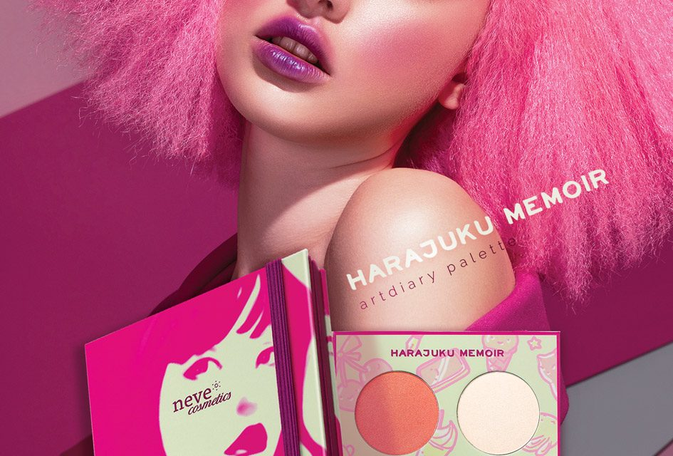 Harajuku Memoir Palette | Anteprima Neve Cosmetics