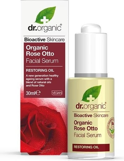 Organic Rose Otto Facial Serum – Dr. Organic | Recensione