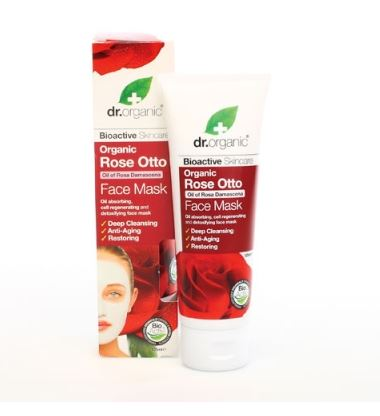 Organic Rose Otto Face Mask – Dr. Organic | Recensione