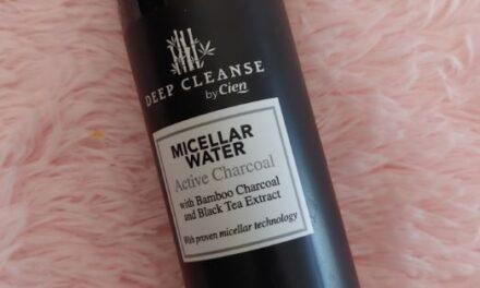 Deep Cleanse – Acqua micellare con Carbone Attivo | Cien