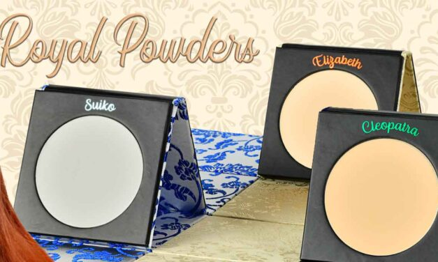 Erikioba – Royal Powders, le nuove ciprie firmate Cosmyfy