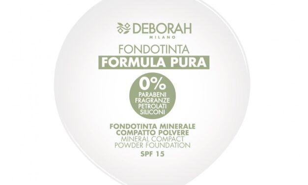 Fondotinta compatto Formula Pura – Deborah Milano | Recensione