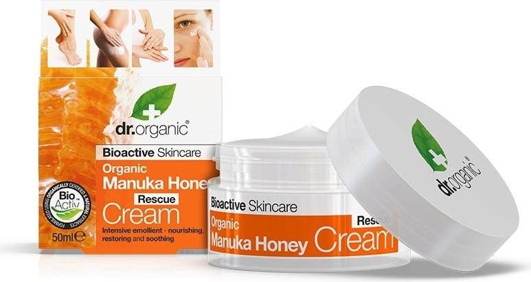 Organic Manuka Honey Rescue Cream – Dr. Organic   Recensione