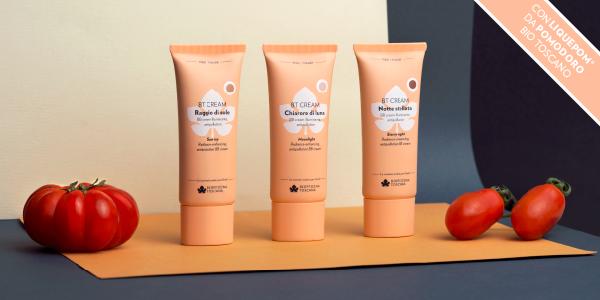 Pelle più uniforme e luminosa con le BT cream di Biofficina Toscana