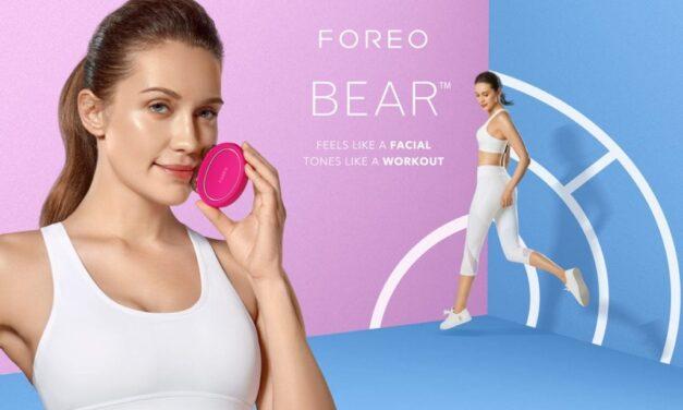 Arriva FOREO BEAR, il personal trainer della pelle